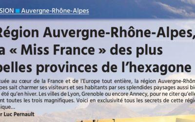 Parution magazine Seniors Actuels spécial Rhône-Alpes Auvergne nov/dec 2019